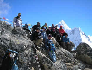 Peak Freaks Mt. Pumori and Everest training and Everest base camp trek