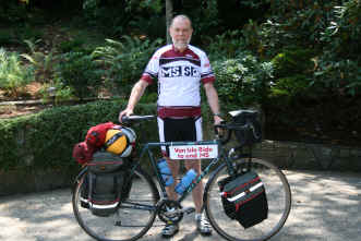 David Cox ride for MS