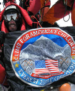 George LaMoureaux Everest Summit Photo 2008