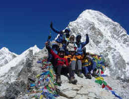 Kala pattar summit
