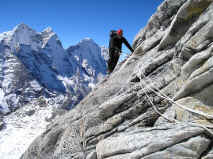 Everest training ama dablam